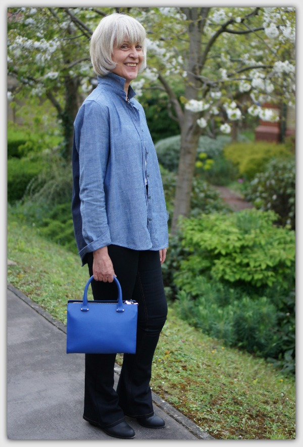 Fashion advice for 40+ women. How I wear double denim