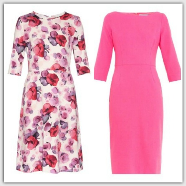 Fashion advice for 50+ women - Pink Dresses with sleeves