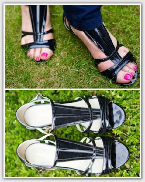 Fashion for 50+ women - Damart sandals