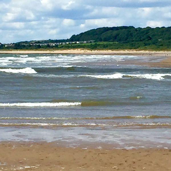 Beach in Wales July 2015