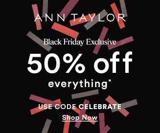 Ann Taylor Black Friday sale
