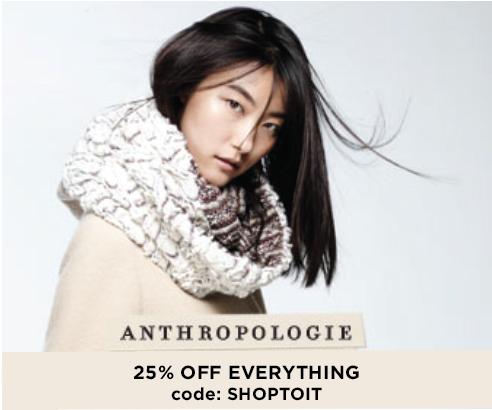 Anthropologie sales deals